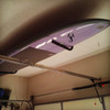 single paddleboard garage ceiling storage rack