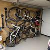 Compact Vertical Bike Rack | Wall Mount