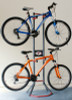 Gravity Bike Rack | 2 Bike Steel Storage Stand