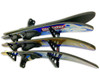 Water Ski Wall Storage | Trifecta Rack | Holds 2 Pairs of Skis