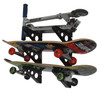 how to organize kid's skateboard equipment