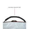 surfboard bag with carry strap
