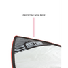 shortboard bag with protective nose