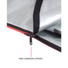 easy load surfboard bag with zipper