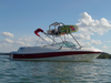 wake boat tower