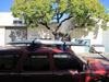 SUP transport with inflatable roof rack