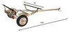 2 Kayak Trailer | Malone MicroSport Bundle Package