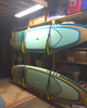 how to hang paddleboards in basement