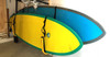 wall storage rack for paddleboards
