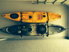 kayak storage heavy