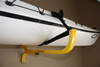 kayak rack with straps