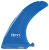 Rainbow Fin Company Rake longboard surfboard fin in blue