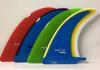 Rainbow Fin Company Costa Azul longboard surfboard fin in multi