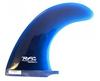 Rainbow Fin Company Noserider longboard surfboard fin in blue