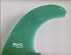Rainbow Fin Company Noserider longboard surfboard fin in green