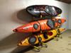 3 kayak deluxe freestanding rack