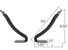 V-rack for kayaks and canoes