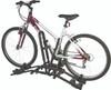 compact 2-bike hitch rack | wheel mount carrier