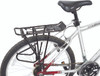 rear wheel bike rack   bag and pannier holder