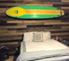 surfboard storage bedroom display wall mount