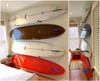 surfboard wall art display mount