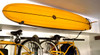 garage surfboard wall rack