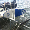 outdoor sup rack for dock storage
