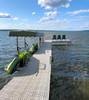 outdoor kayak dock storage
