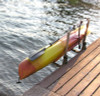 marine grade kayak dock rack