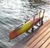 marine grade kayak dock rack