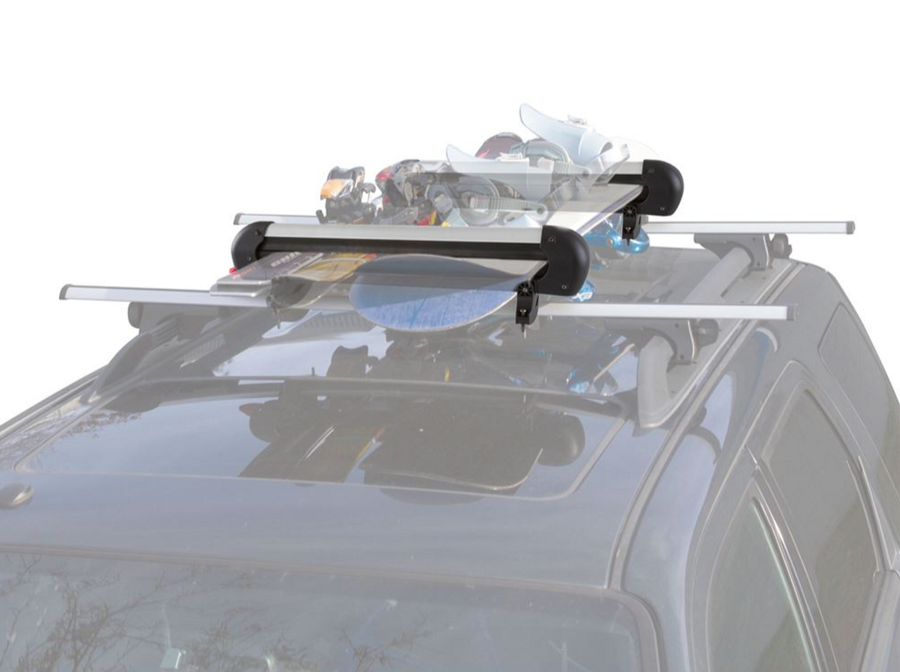 Roof Rack Snowboard Carrier | Locking Roof Rack