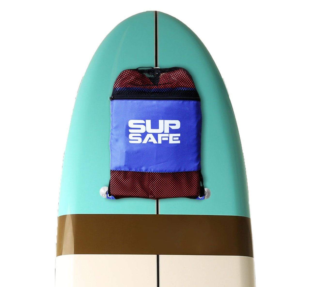 SUP PFD Kit | Life Jacket, Whistle, and Suction Cup Storage Bag