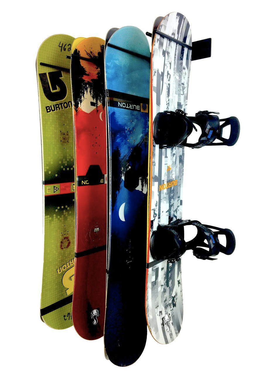 snowboard wall storage rack