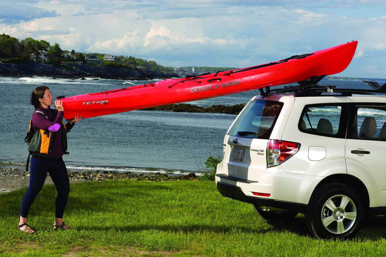 Kayak Roof Rack with Load Assist | Malone SeaWing Stinger