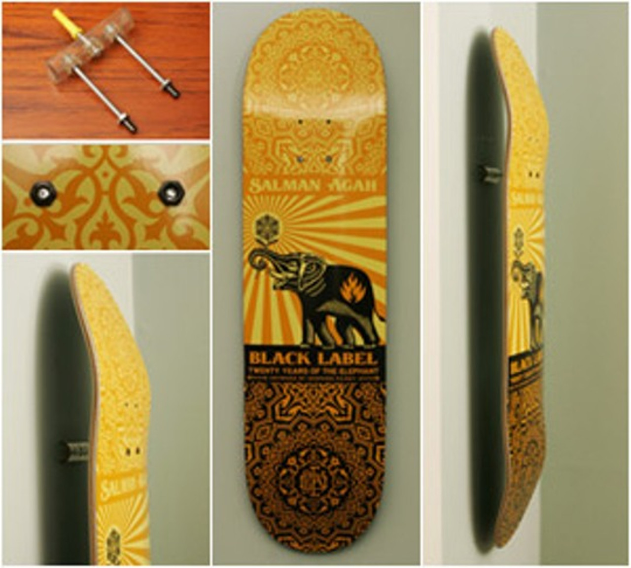 sk8ology deck display
