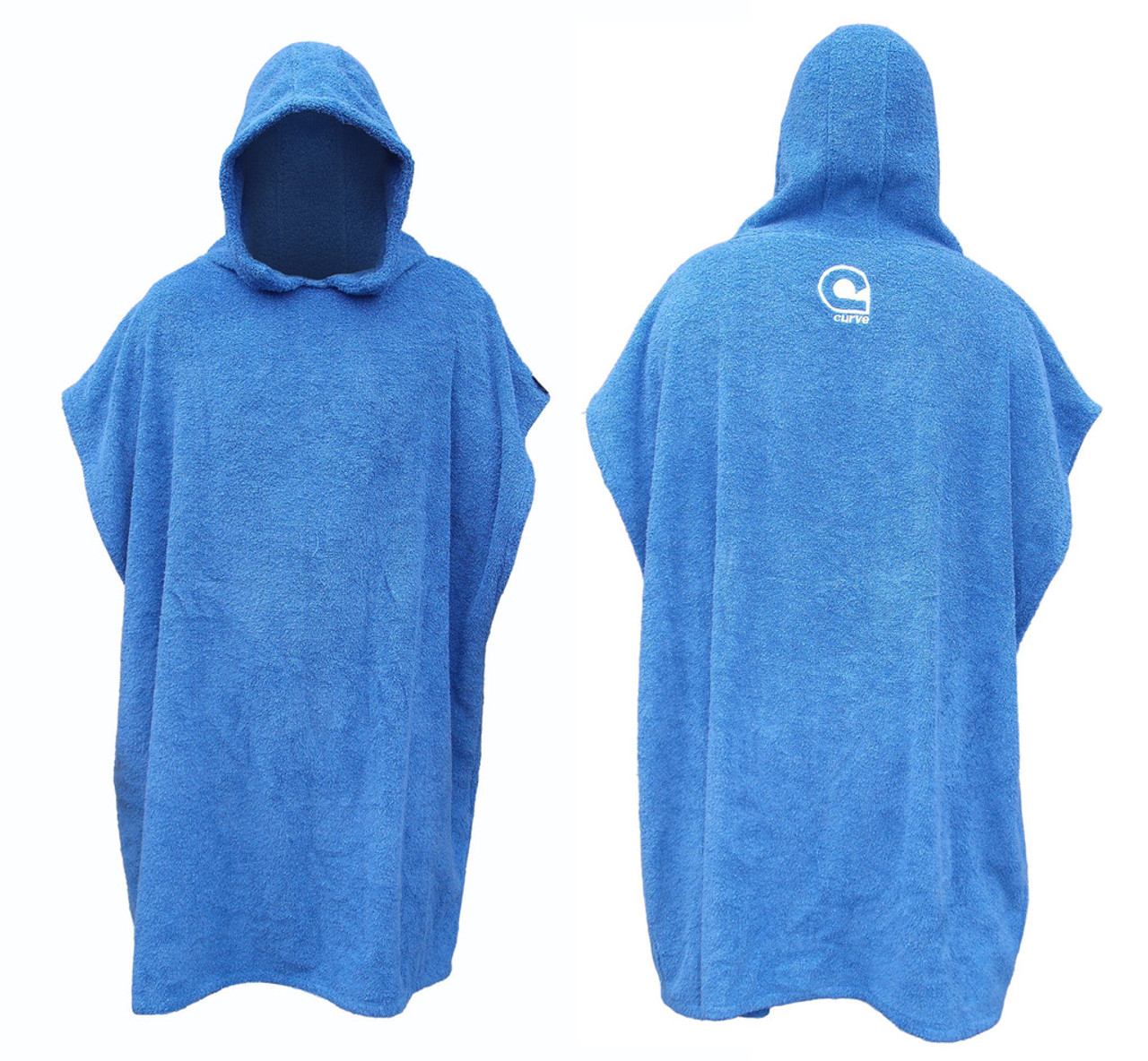 wetsuit changing robe blue
