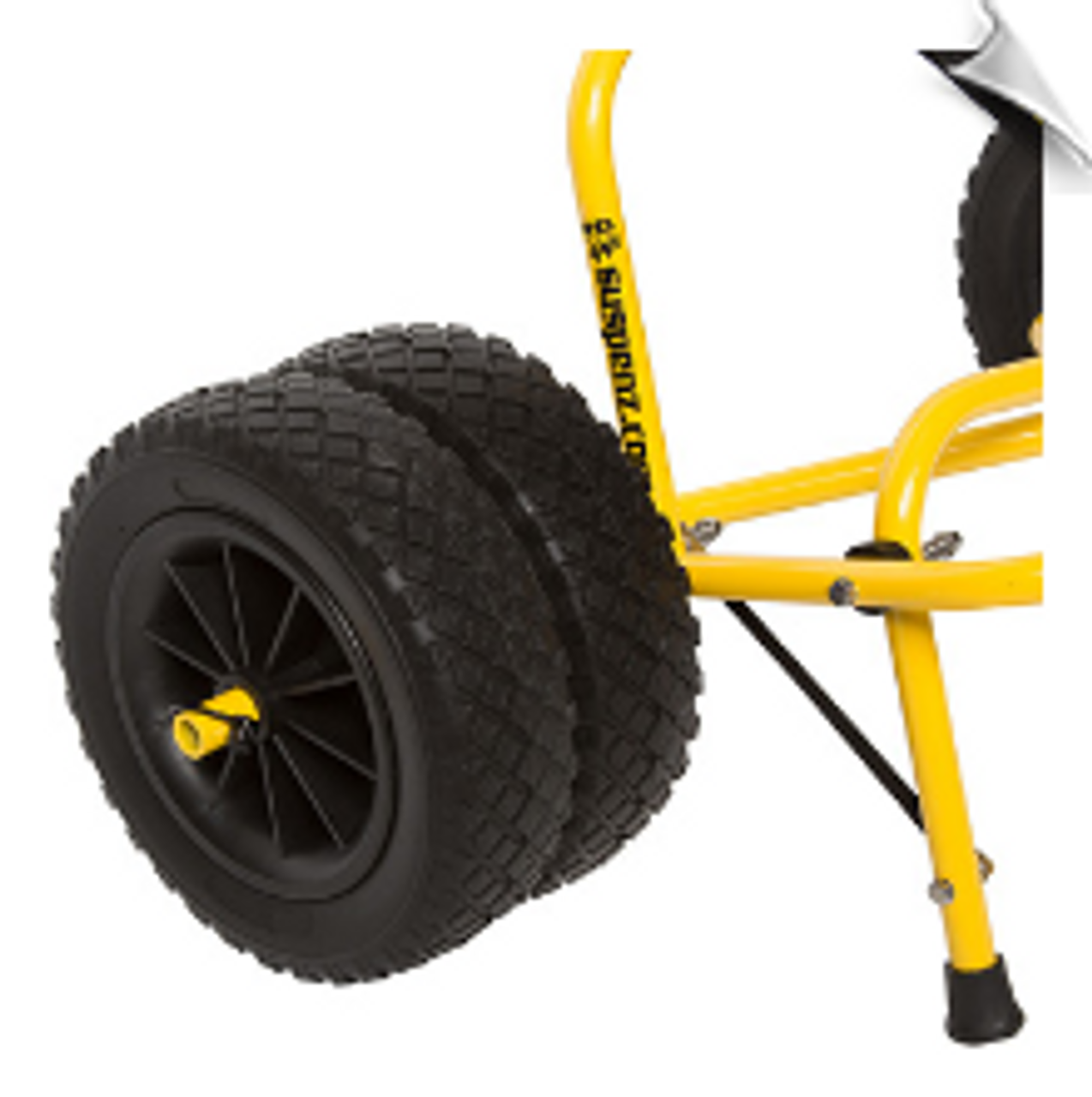 Wheels for kayak or SUP cart or trailer