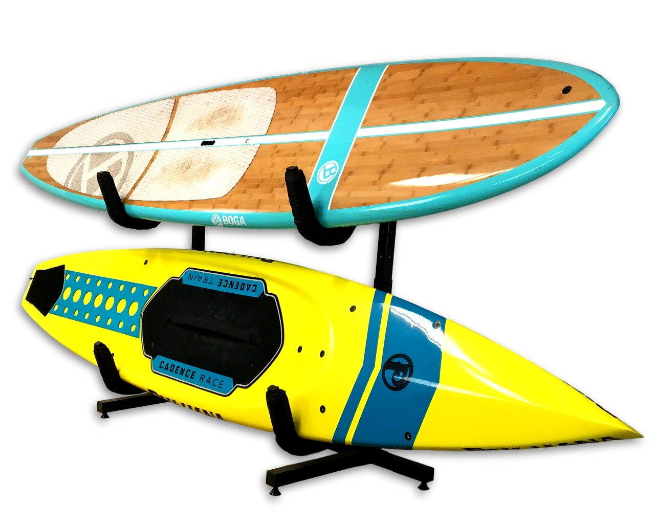 freestanding paddleboard storage