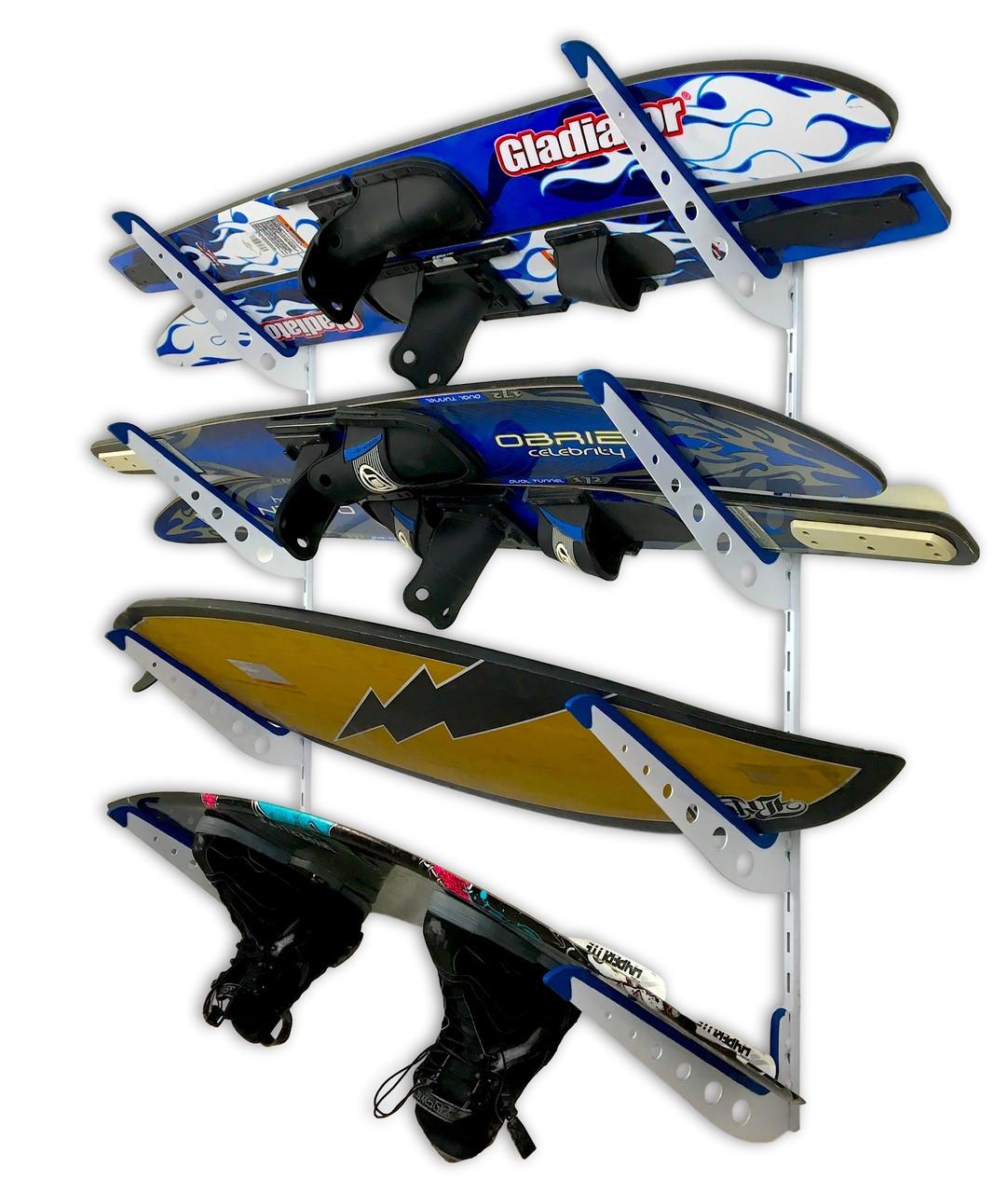 best water ski storage rack mount organizer