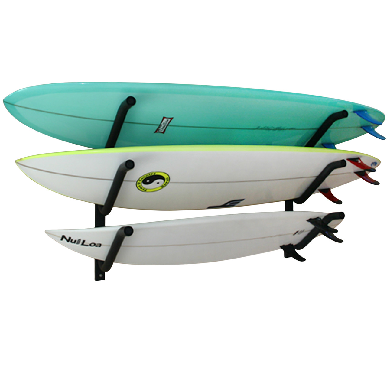 Triple On-Rail Surfboard Rack | Gatekeepers