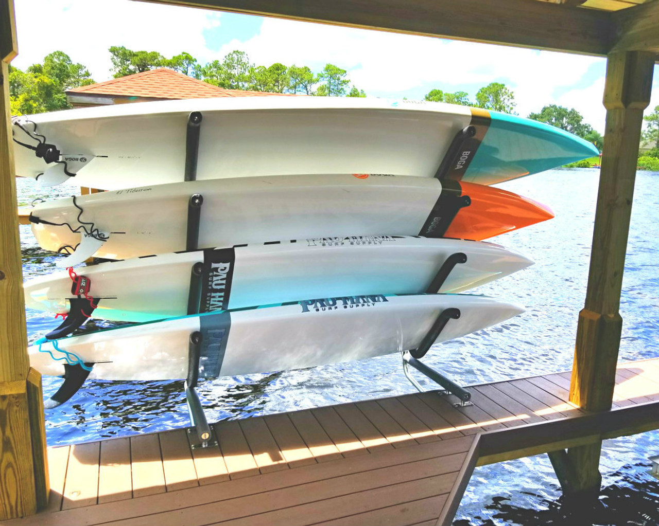 best dock side paddleboard storage rack