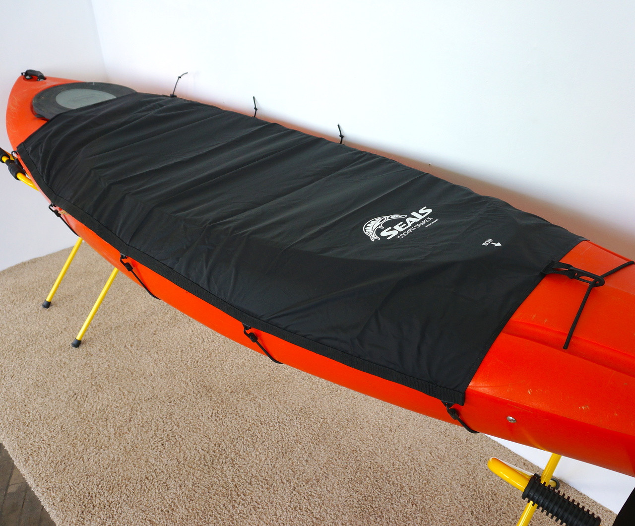 cockpit cover for recreational SOT kayaks