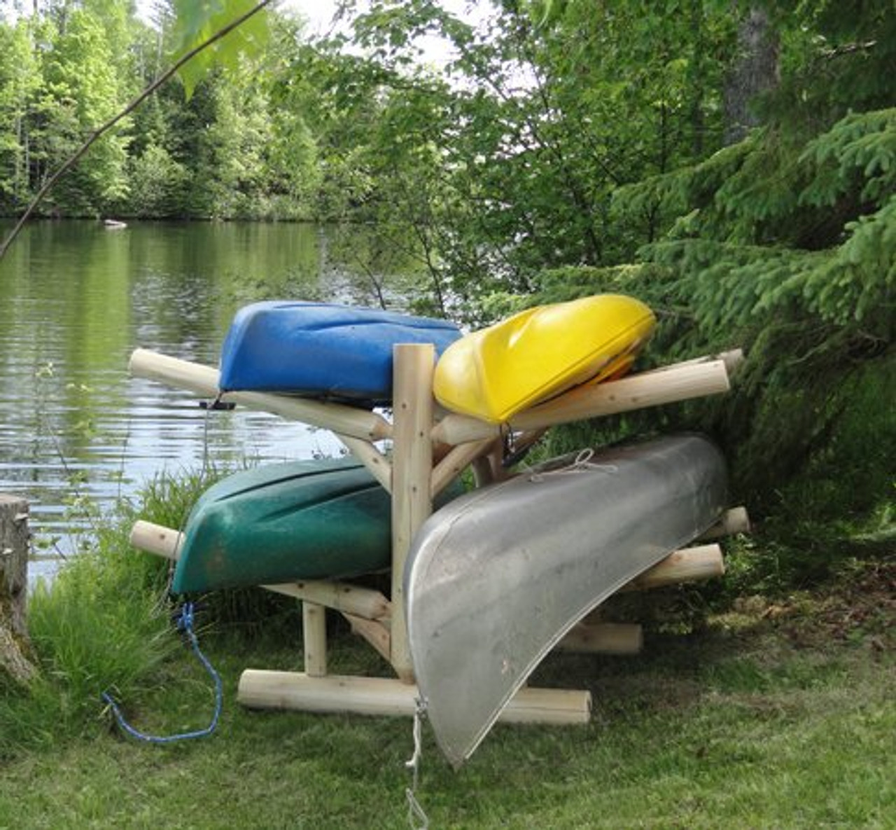 four kayak log rack