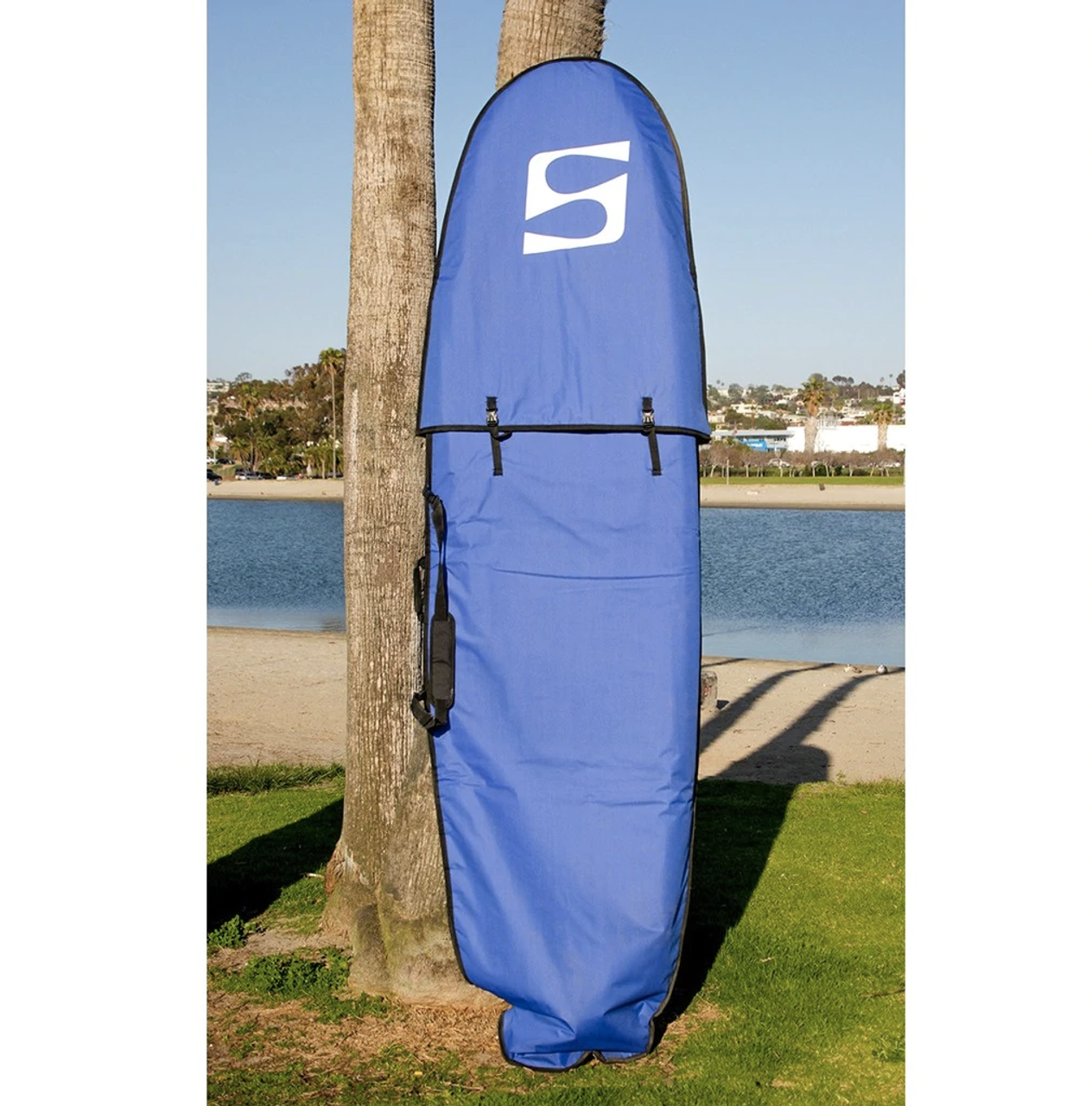 "Adjustable Surfboard Travel Bag | Fits Surfboards 8'6"" to 10'"
