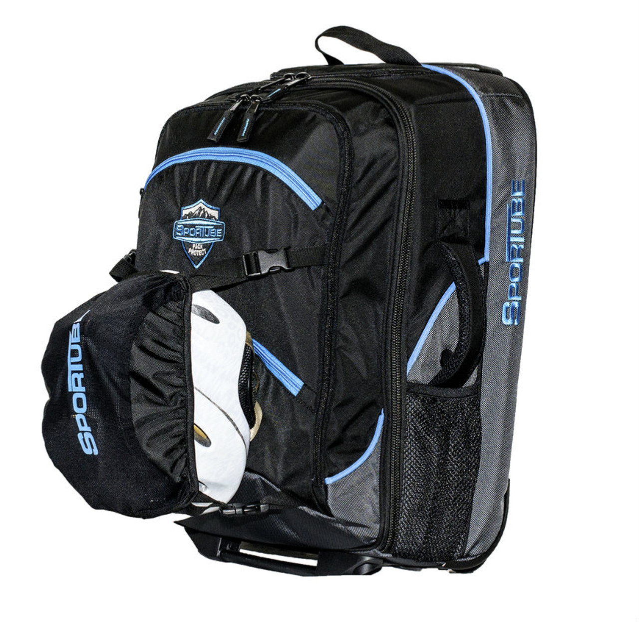 Ski Boot Bag >> Carry On Ski Boot Bag Pull Handle With Wheels Sportube