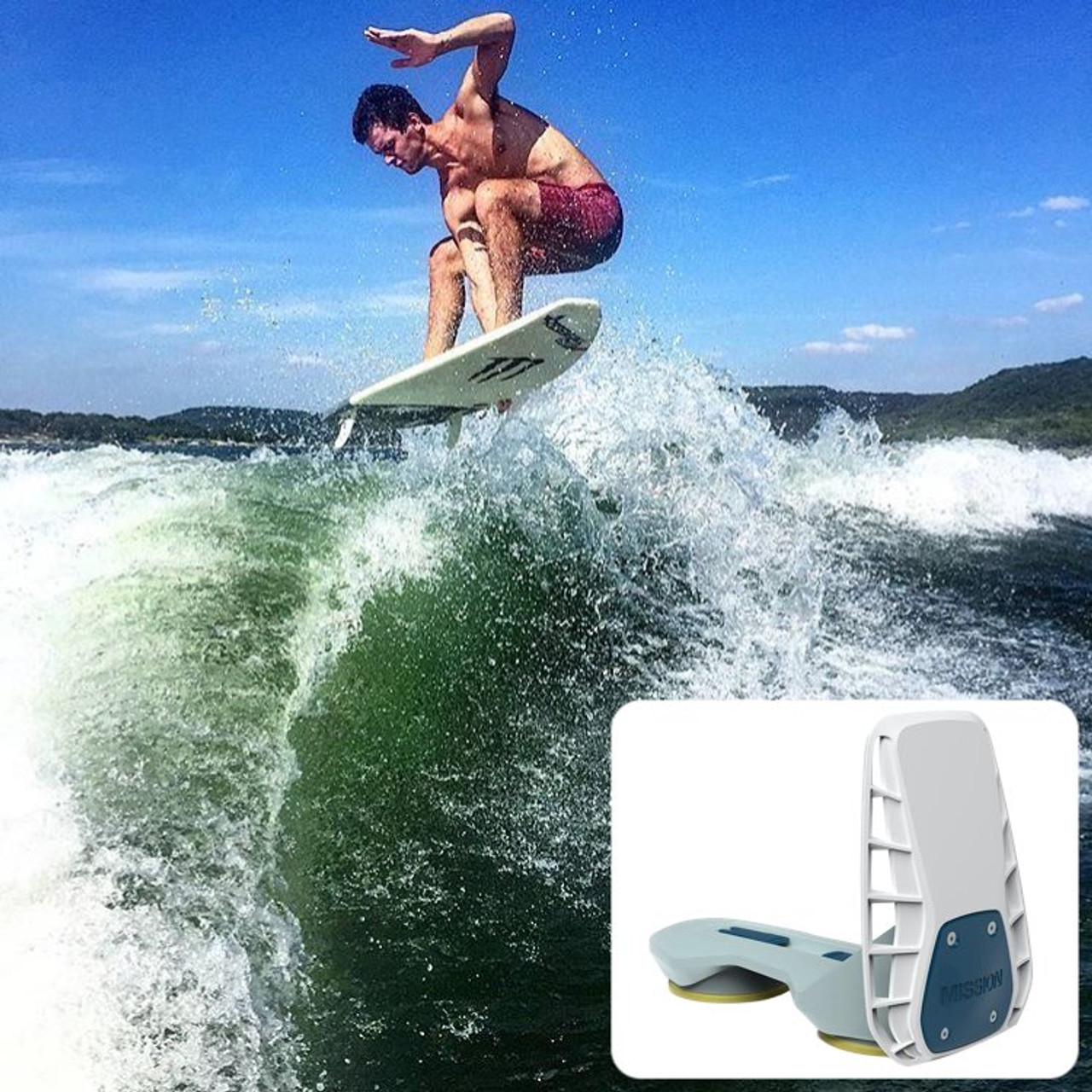 best wakesurf wave maker wakeshaper mission delta 2.0