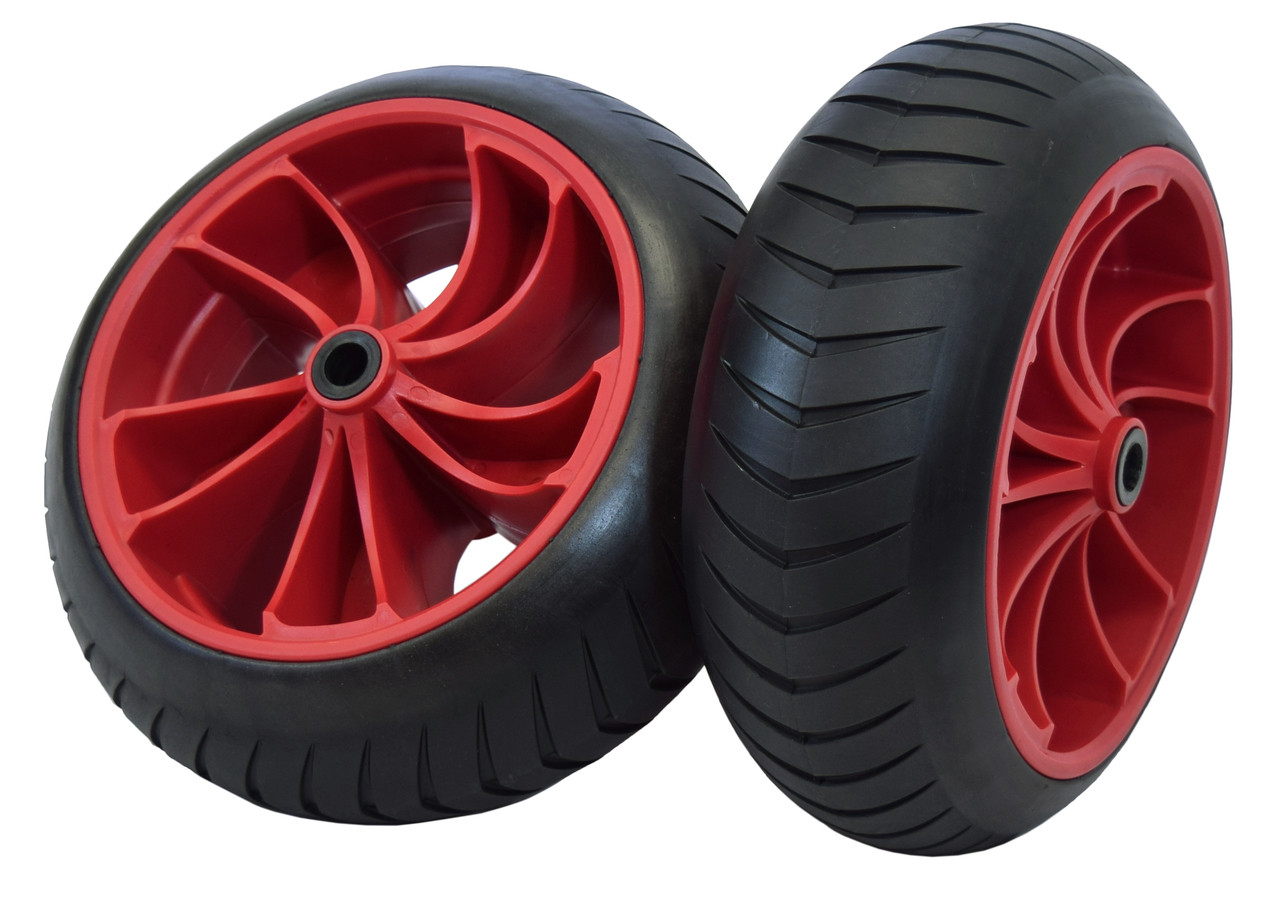 airless, never go flat tires