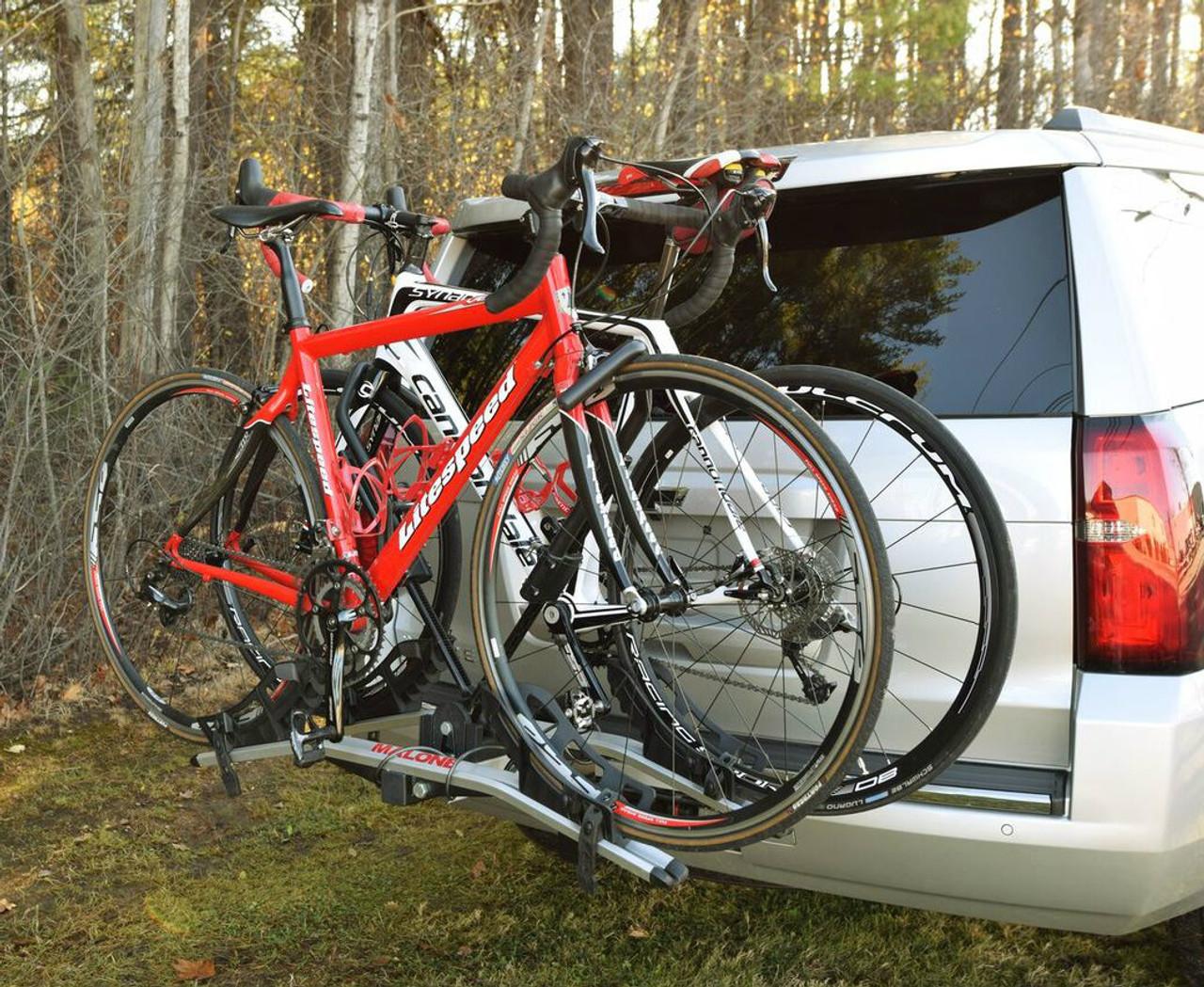 2 Bike Tray Style Car Rack Hitch Mount Bike Rack