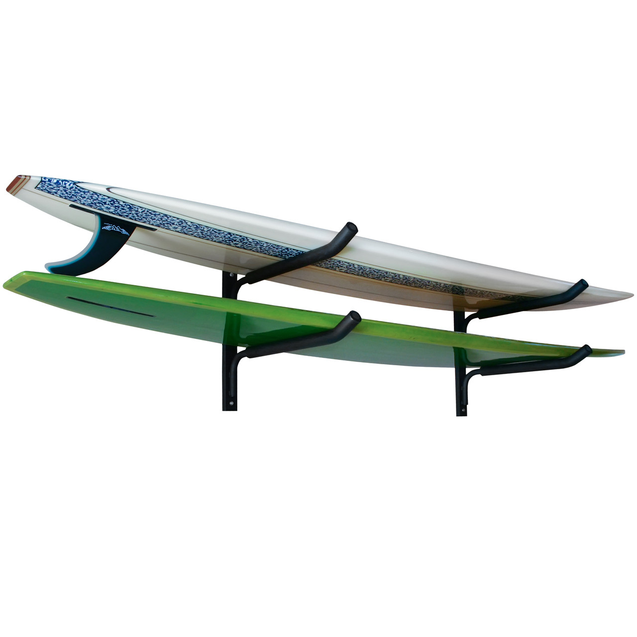 Double Horizontal Surfboard Wall Rack | Gatekeepers