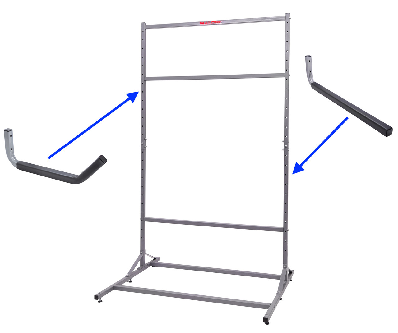 Add-on Arms for SUP, Kayak, Surf Storage | For Malone Freestanding Racks